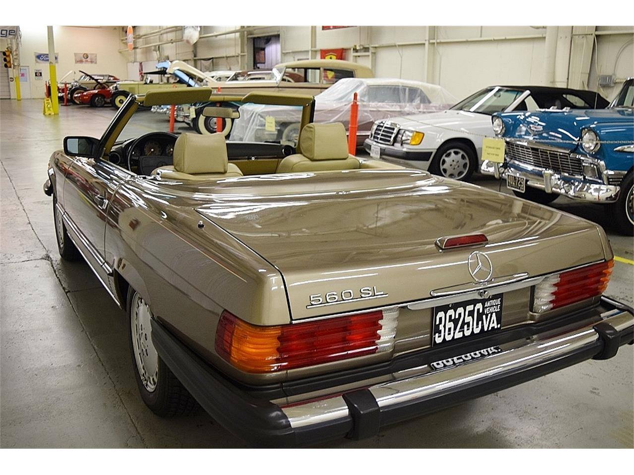 1988 Mercedes-Benz 560SL for sale in Fredericksburg, VA ...