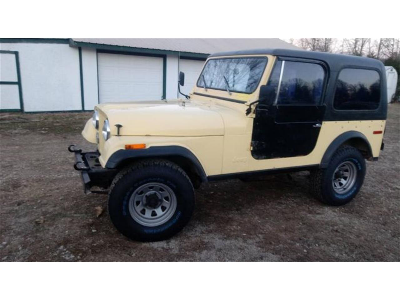 1979 Jeep CJ7 for sale in Cadillac, MI