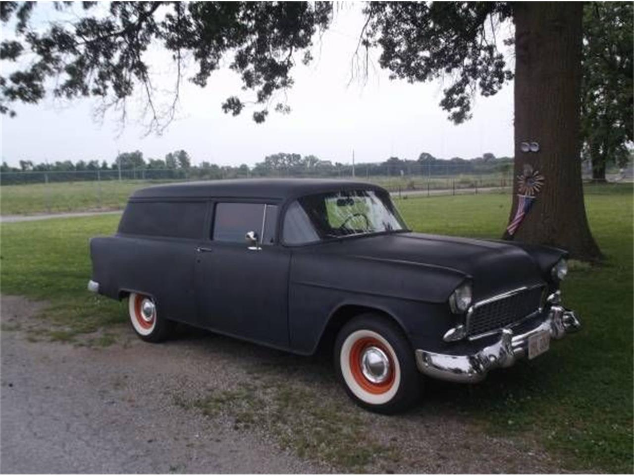 1955 Chevrolet Sedan Delivery for sale in Cadillac, MI