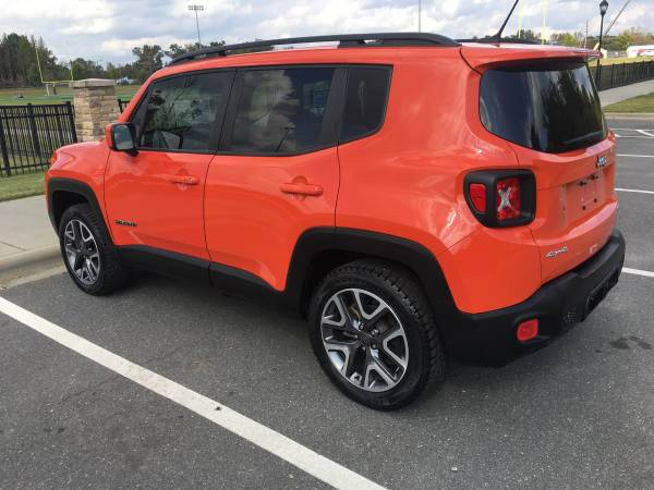 2017 Jeep Renegade 4X4 24 mi, Excellent shape! Make an offer! - cars... for sale in Matthews, SC – photo 3