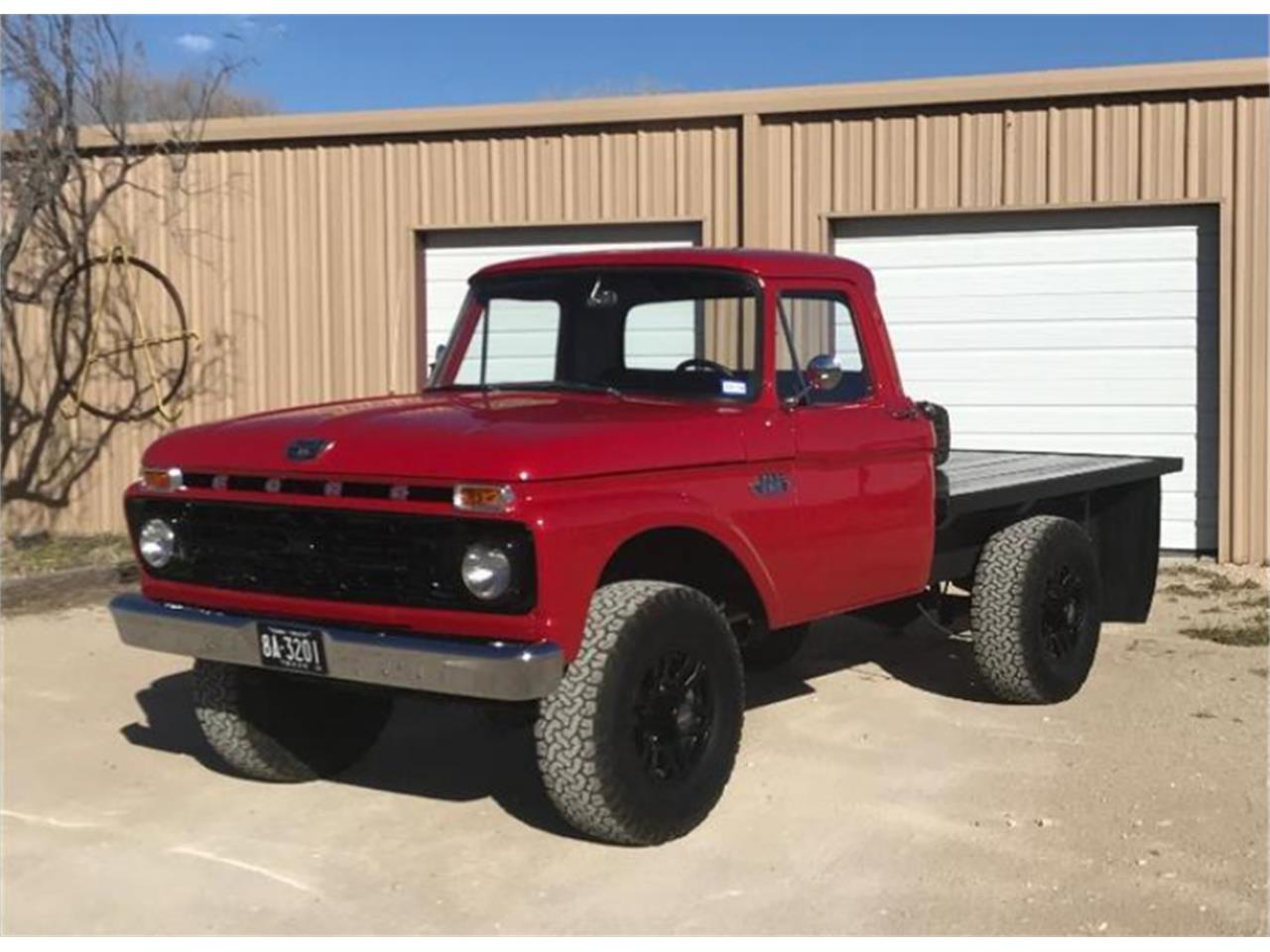 1966 Ford F250 For Sale In Ft Stockton Tx Classiccarsbay Com