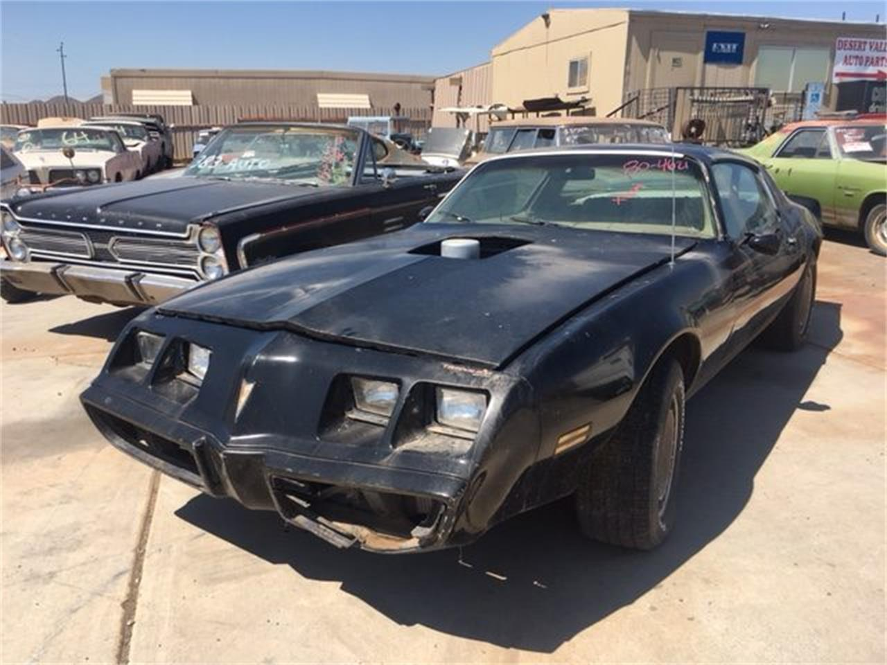 Phoenix Auto Parts >> 1980 Pontiac Firebird For Sale In Phoenix Az