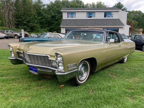 1968 Cadillac Coupe DeVille Coupe for sale in Charlton, MA