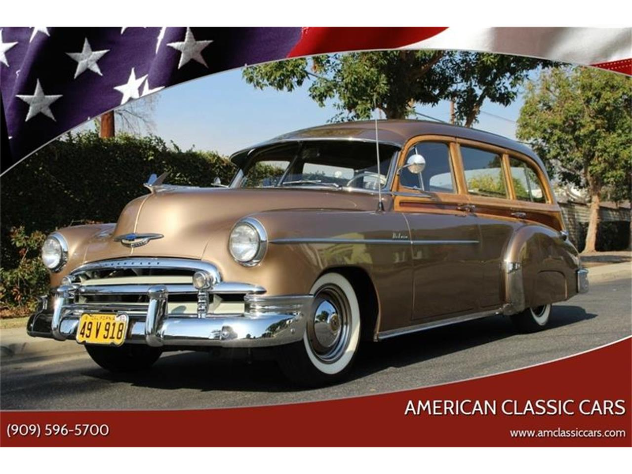 1950 Chevrolet Styleline Deluxe for sale in La Verne, CA