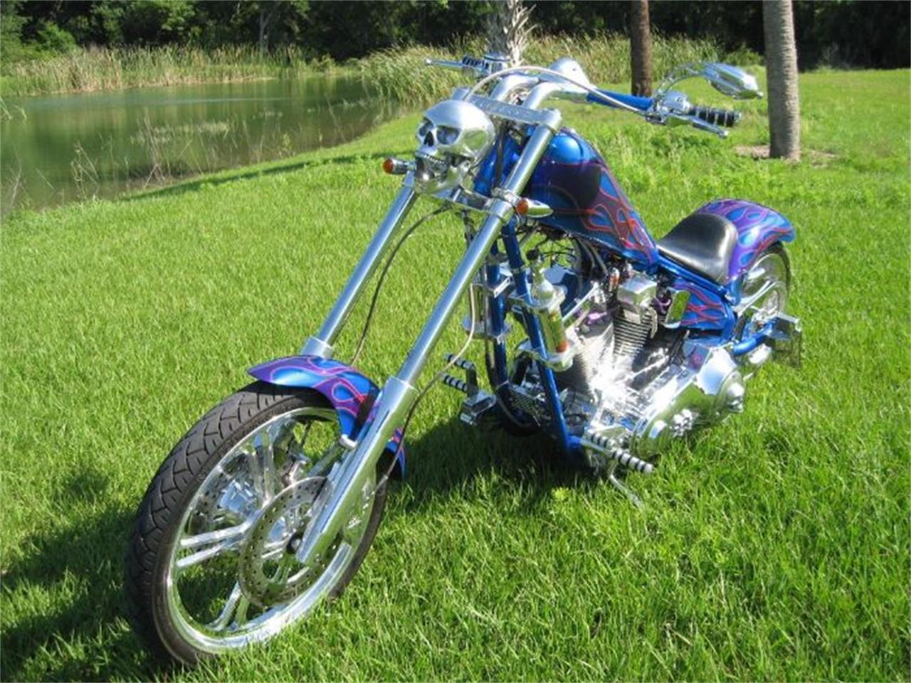 2002 American Ironhorse Texas Chopper for sale in Cadillac, MI