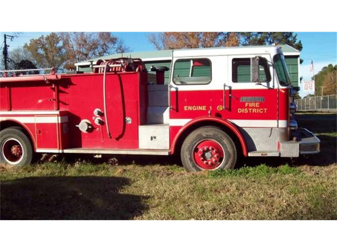 1977 Seagrave Fire Truck for sale in Cadillac, MI