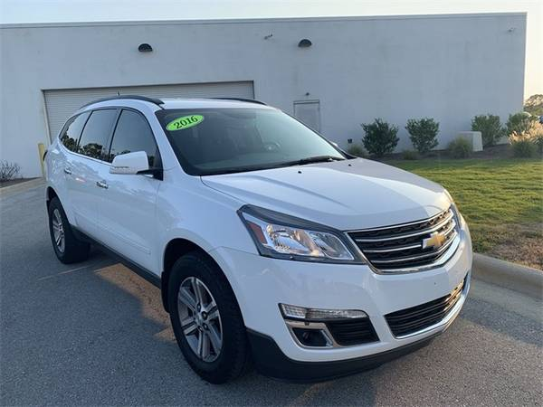 2016 Chevy Chevrolet Traverse Lt Suv White For Sale In Swansboro Nc Classiccarsbay Com