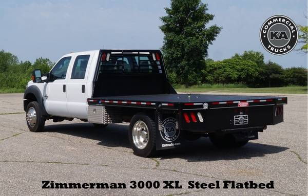 2018 Ford F550 XL - 9ft Flatbed - 4WD 6.7L V8 Utility Dump Box Truck... for sale in Dassel, MT – photo 16
