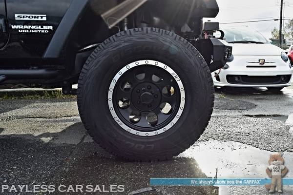 2017 Jeep Wrangler Unlimited Sport / 4X4 / Automatic / Hard Top / Lift for sale in Anchorage, AK – photo 19