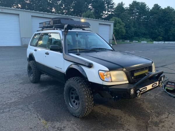 2001 lifted subaru forester for sale in wallingford ct classiccarsbay com 2001 lifted subaru forester for sale in