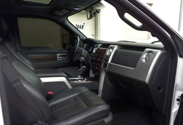 "2012 Ford F-150 2WD SuperCrew 145"" Lariat - cars & trucks - by... for sale in Miami, FL – photo 11"