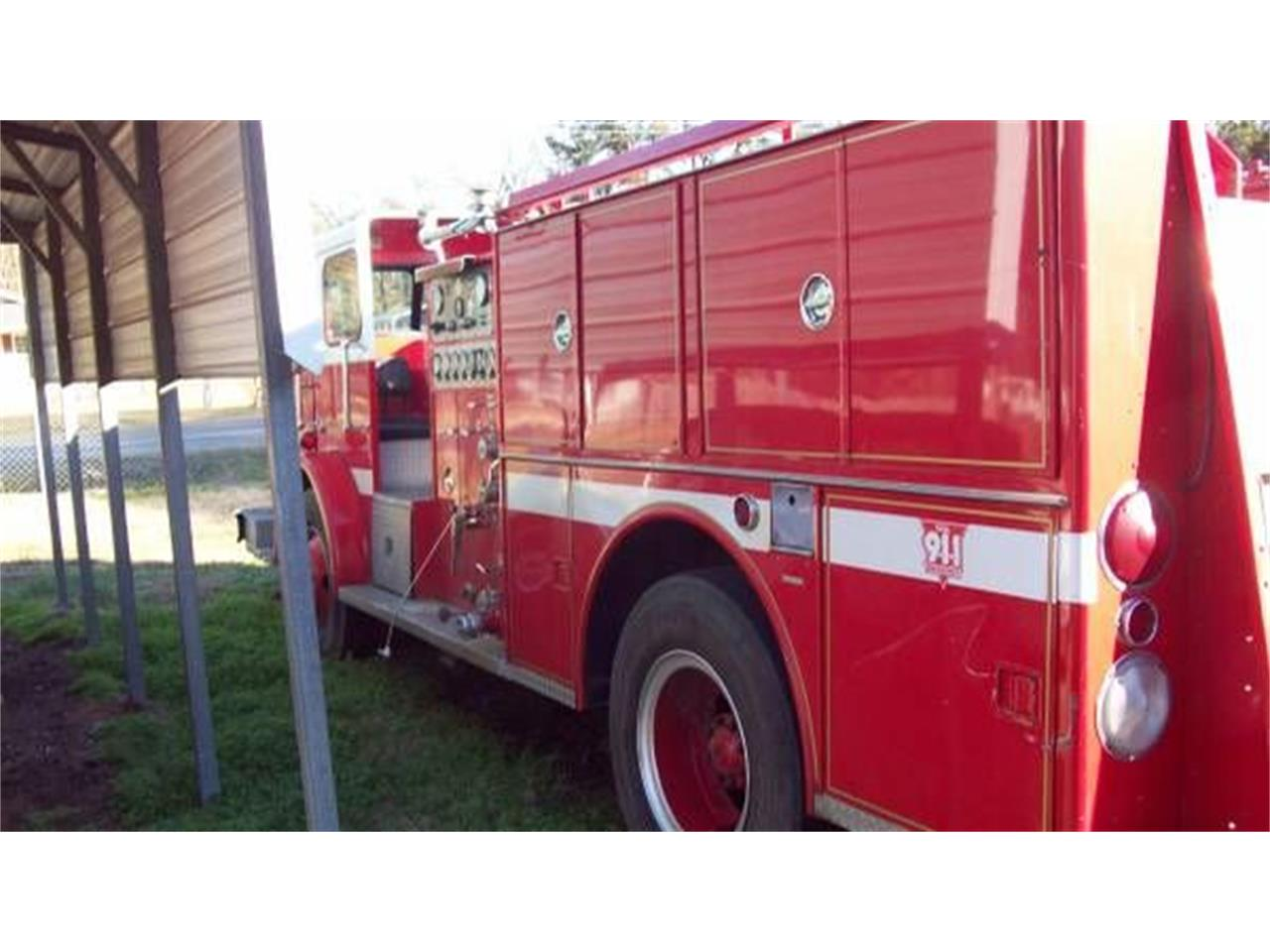 1977 Seagrave Fire Truck for sale in Cadillac, MI – photo 4