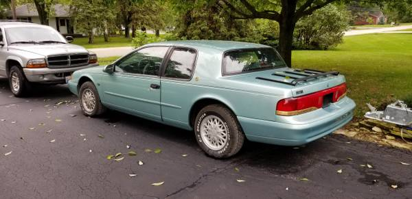 1994 mercury cougar xr7 for sale in new lenox il classiccarsbay com 1994 mercury cougar xr7 for sale in new