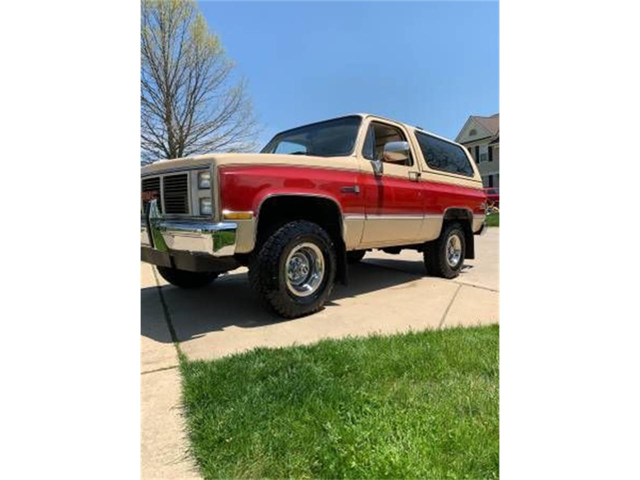 1987 GMC Jimmy for sale in Cadillac, MI