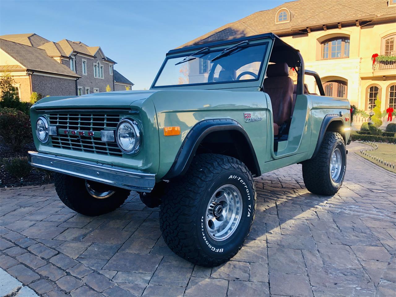 1973 Ford Bronco For Sale In Atlanta Ga Classiccarsbay Com