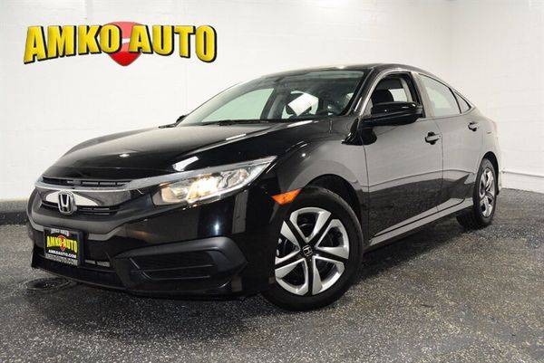 2016 Honda Civic LX LX 4dr Sedan CVT - $750 Down for sale in District Heights, MD