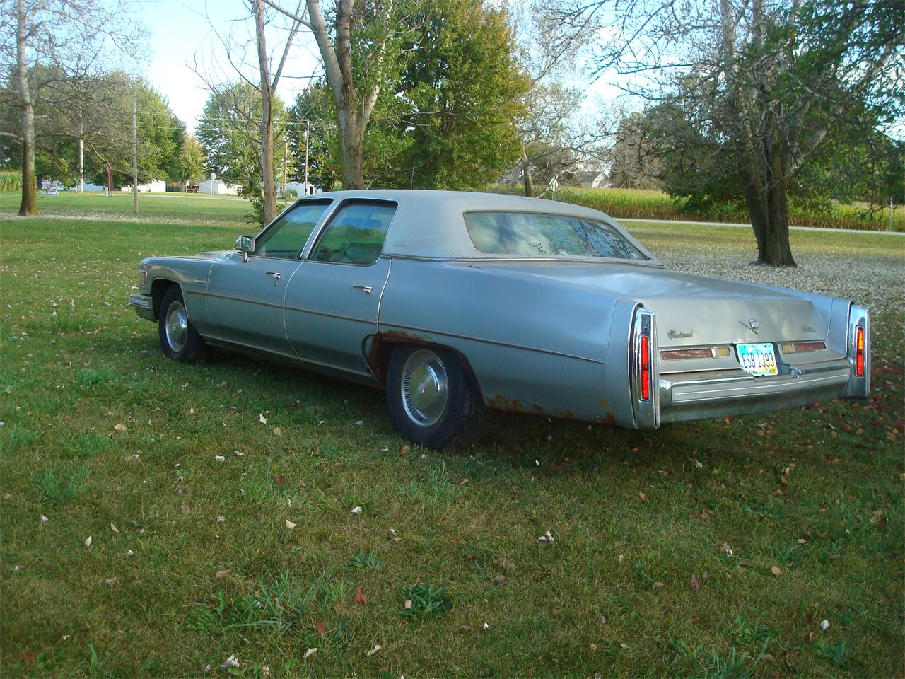 1976 Cadillac Fleetwood Brougham d'Elegance for sale in New London, OH – photo 6