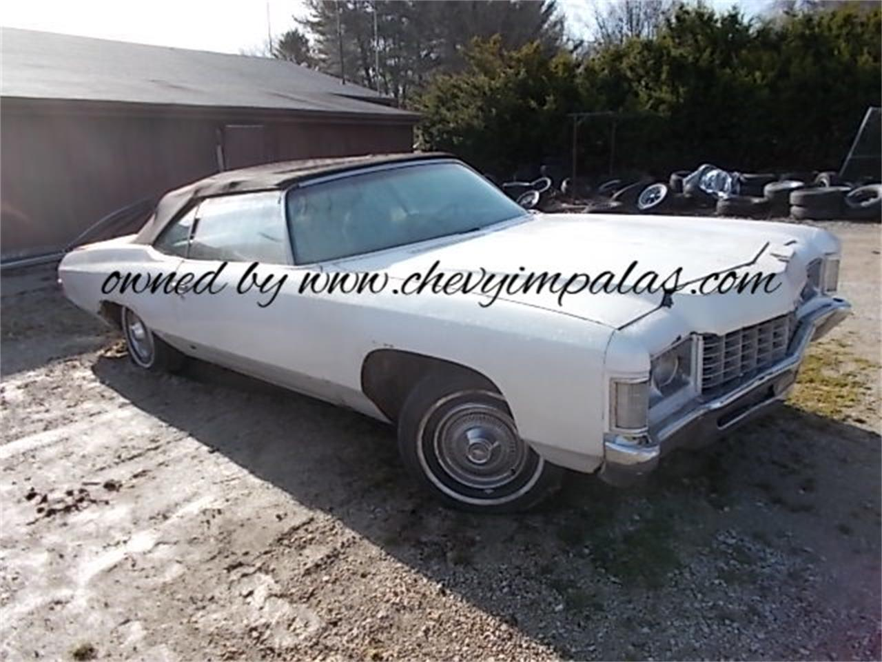 1971 Chevrolet Impala For Sale In Creston Oh Classiccarsbay Com