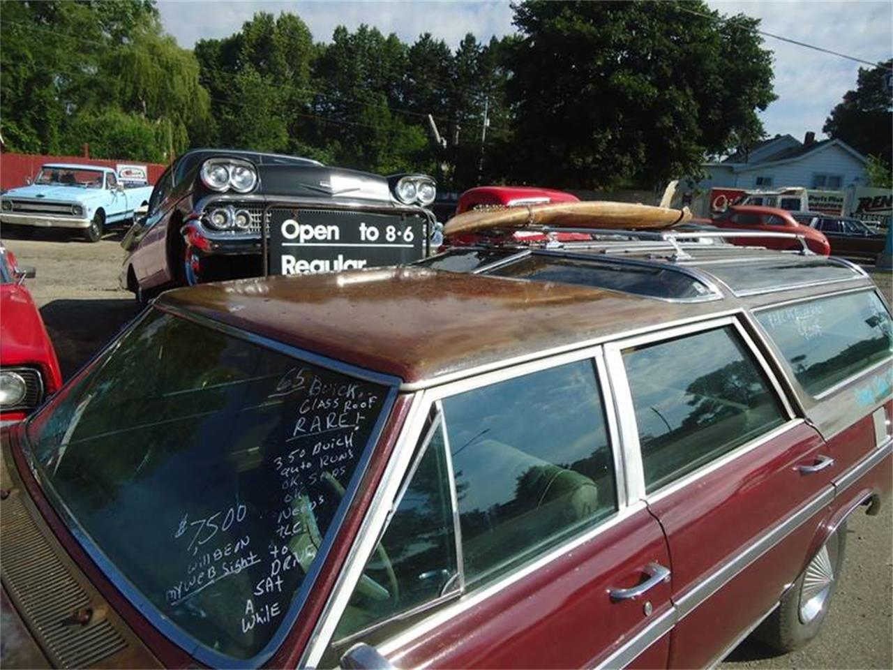 1965 sport wagon glass roof buick for sale in Jackson, MI – photo 11