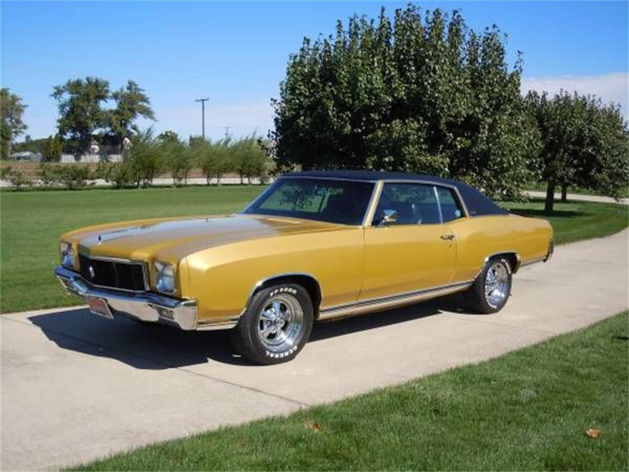 1971 Chevrolet Monte Carlo For Sale In Cadillac Mi Classiccarsbay Com