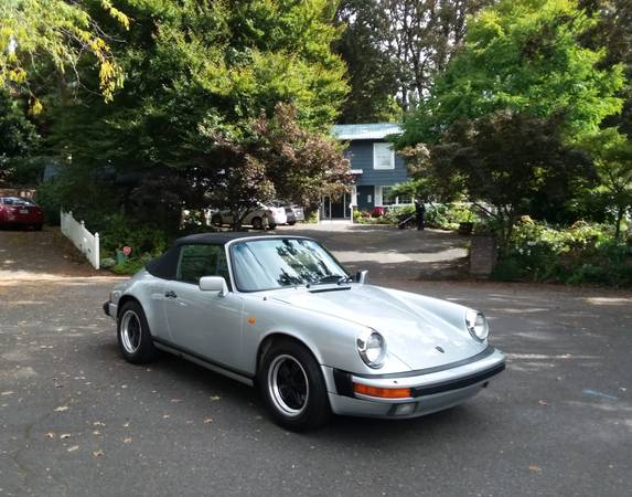 1984 Porsche 911 Carrera Cabriolet for sale in Portland, CA – photo 13