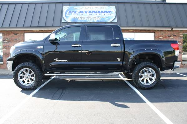 Lifted 2012 Toyota Tundra Crew Max 4x4 For Sale In Fredericksburg Va Classiccarsbay Com