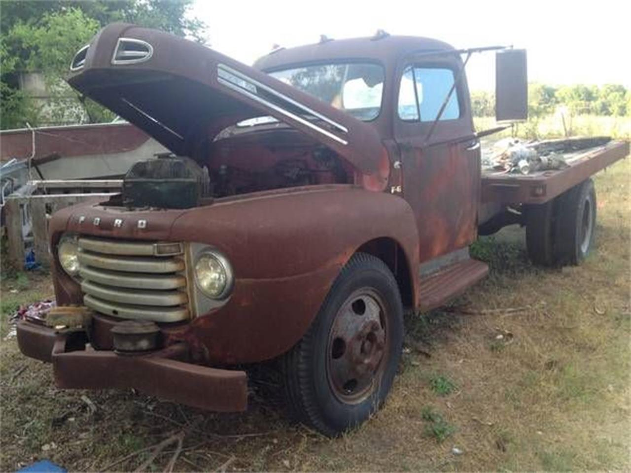 1949 Ford F6 for sale in Cadillac, MI