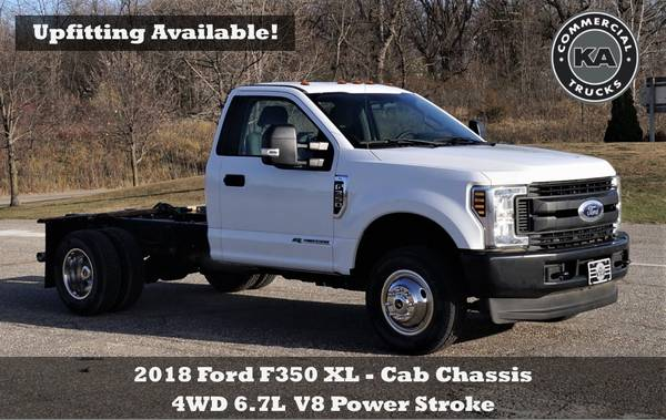 2018 Ford F550 XL - 9ft Flatbed - 4WD 6.7L V8 Utility Dump Box Truck... for sale in Dassel, MT – photo 6