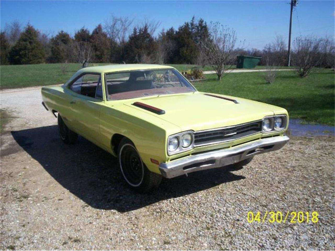 1969 Plymouth GTX for sale in Cadillac, MI