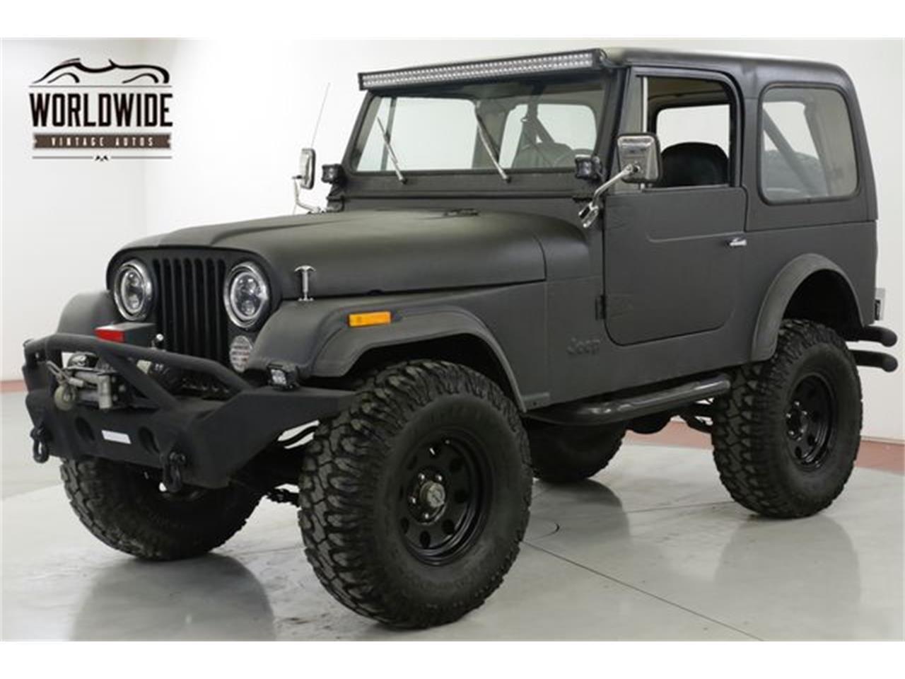 1979 Jeep CJ7 for sale in Denver , CO / ClassicCarsBay.com