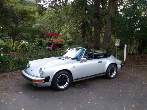1984 Porsche 911 Carrera Cabriolet for sale in Portland, CA – photo 2