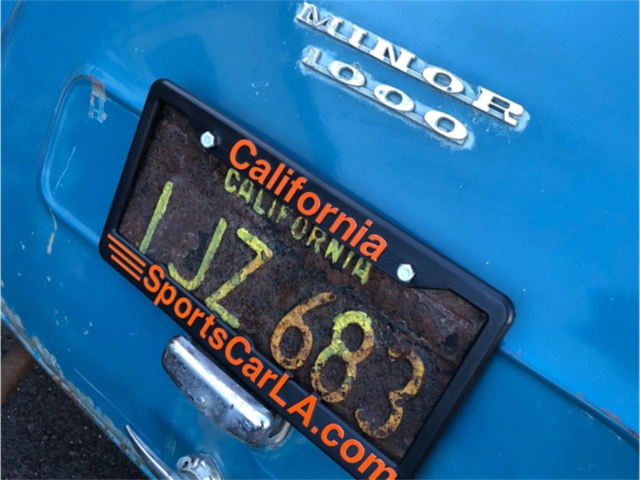 1958 Morris Minor for sale in Los Angeles, CA – photo 21