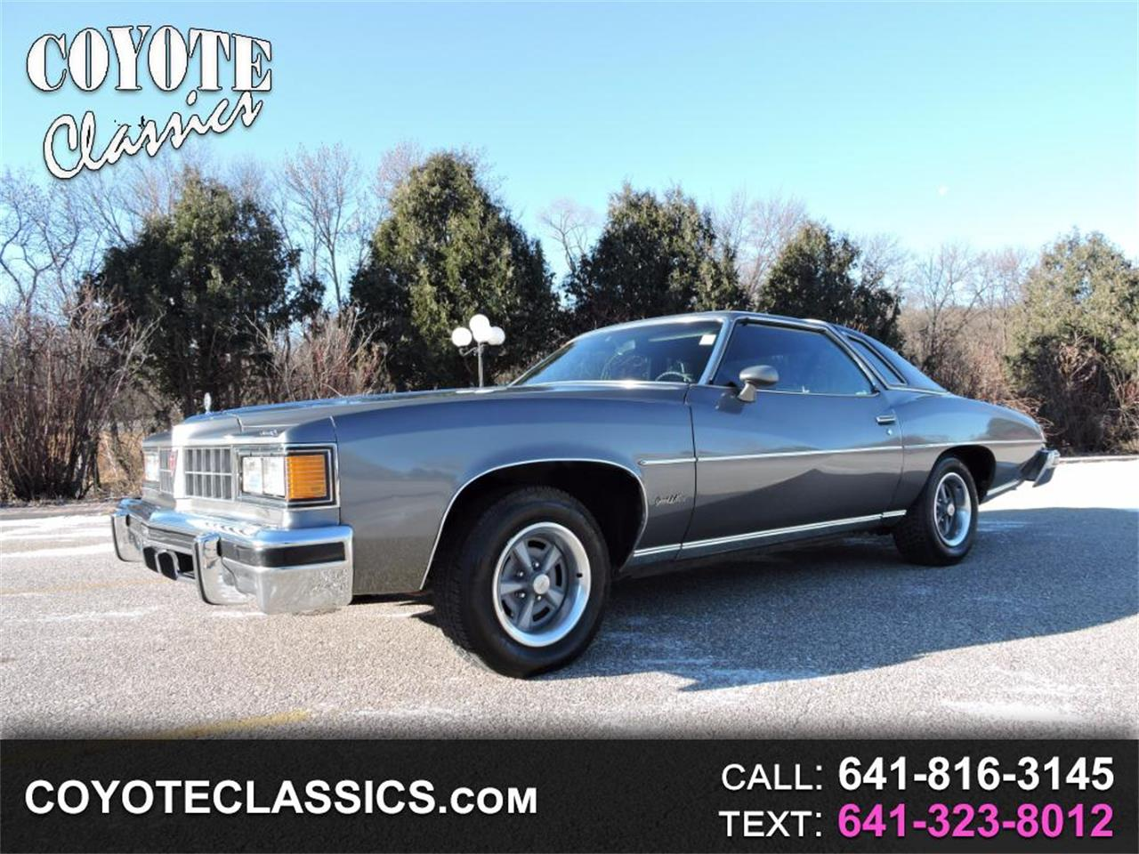 1977 Pontiac Grand LeMans for sale in Greene, IA