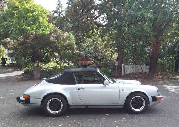 1984 Porsche 911 Carrera Cabriolet for sale in Portland, CA – photo 12