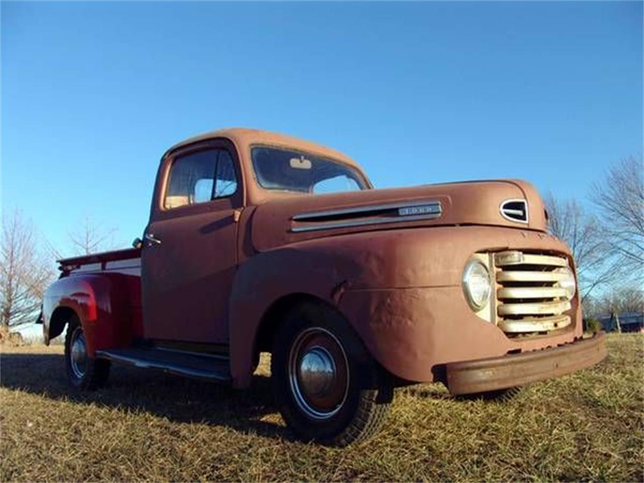1949 Ford F1 for sale in Cadillac, MI