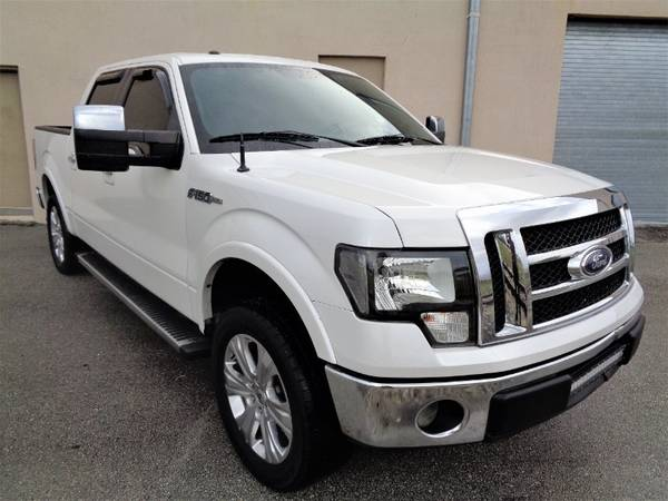 "2012 Ford F-150 2WD SuperCrew 145"" Lariat - cars & trucks - by... for sale in Miami, FL – photo 4"