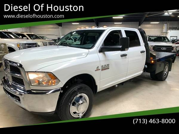 2016 Dodge Ram 3500 Tradesman Chassis 6.7L Cummins Diesel for sale in Houston, TX