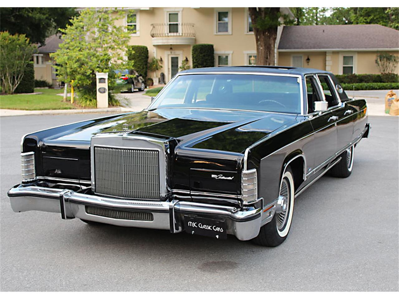 1977 Lincoln Town Car For Sale In Lakeland Fl Classiccarsbay Com