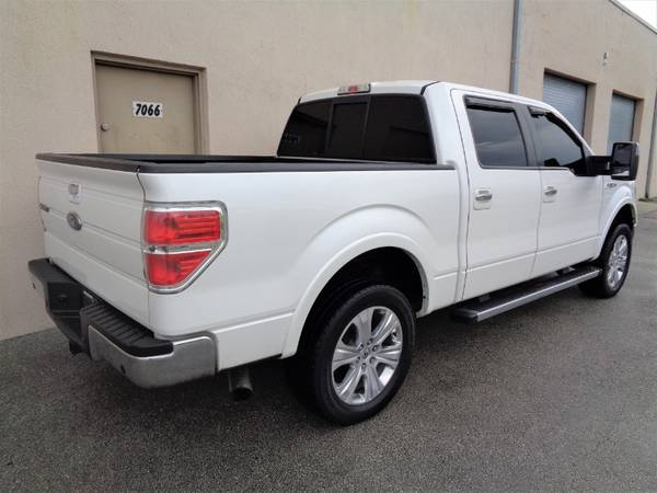 "2012 Ford F-150 2WD SuperCrew 145"" Lariat - cars & trucks - by... for sale in Miami, FL – photo 3"