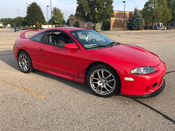 1997 mitsubishi eclipse gst california car for sale in dubuque ia classiccarsbay com 1997 mitsubishi eclipse gst california