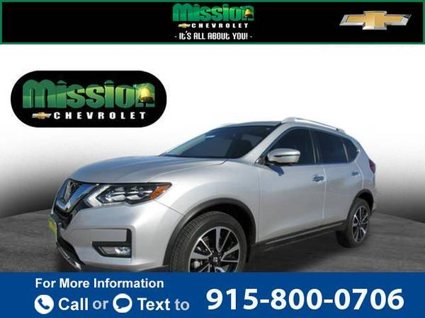 2017 nissan rogue sl suv brilliant silver for sale in el paso tx classiccarsbay com classiccarsbay