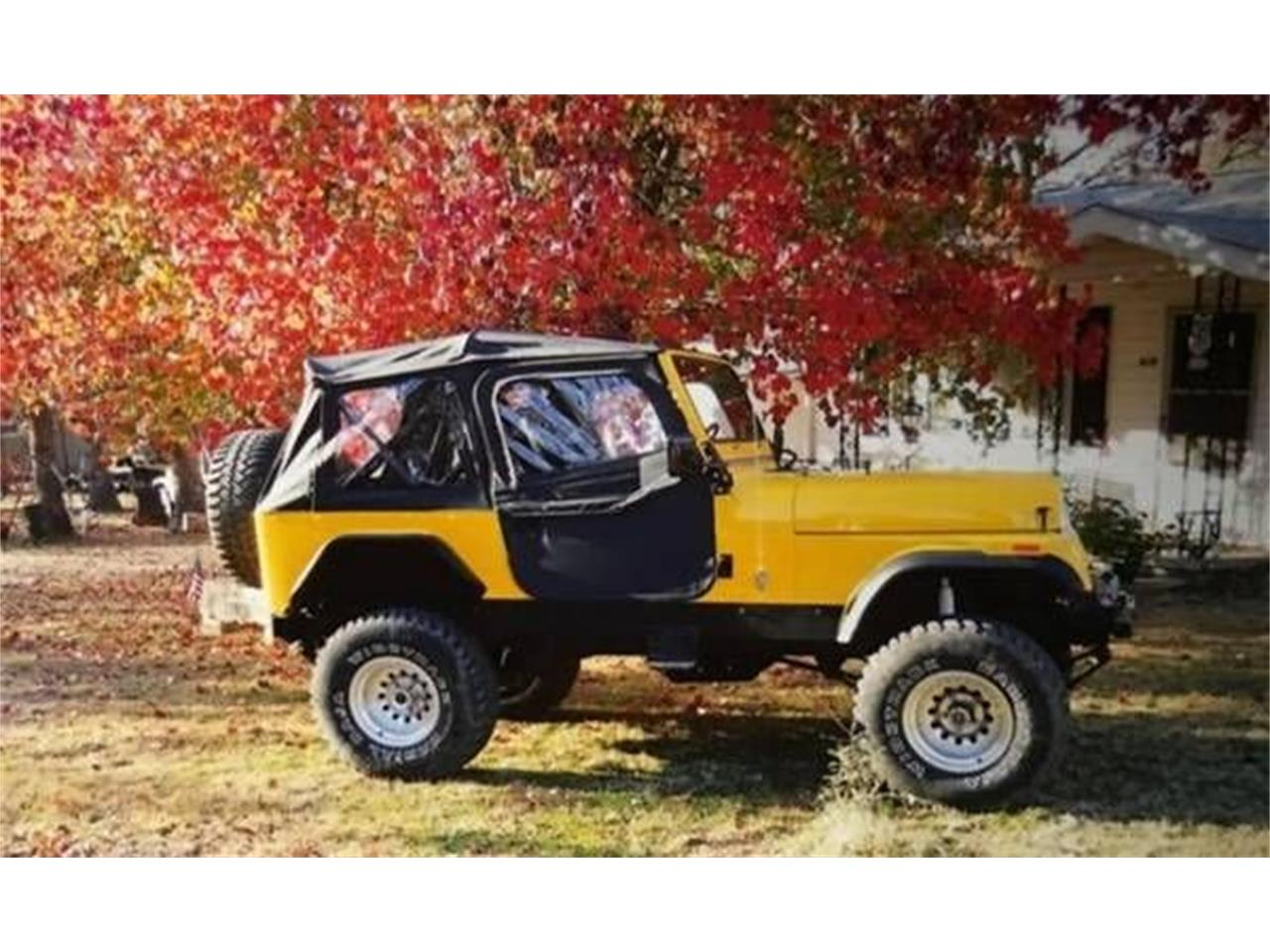 1978 Jeep CJ7 for sale in Cadillac, MI