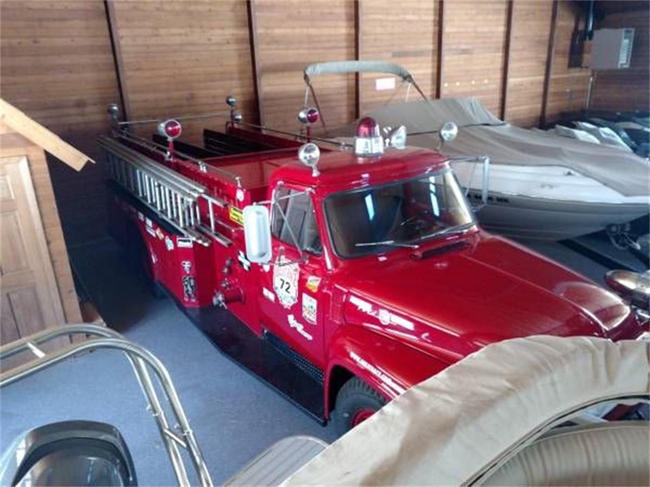 Trucks For Sale In Michigan >> 1953 Ford Fire Truck For Sale In Cadillac Mi