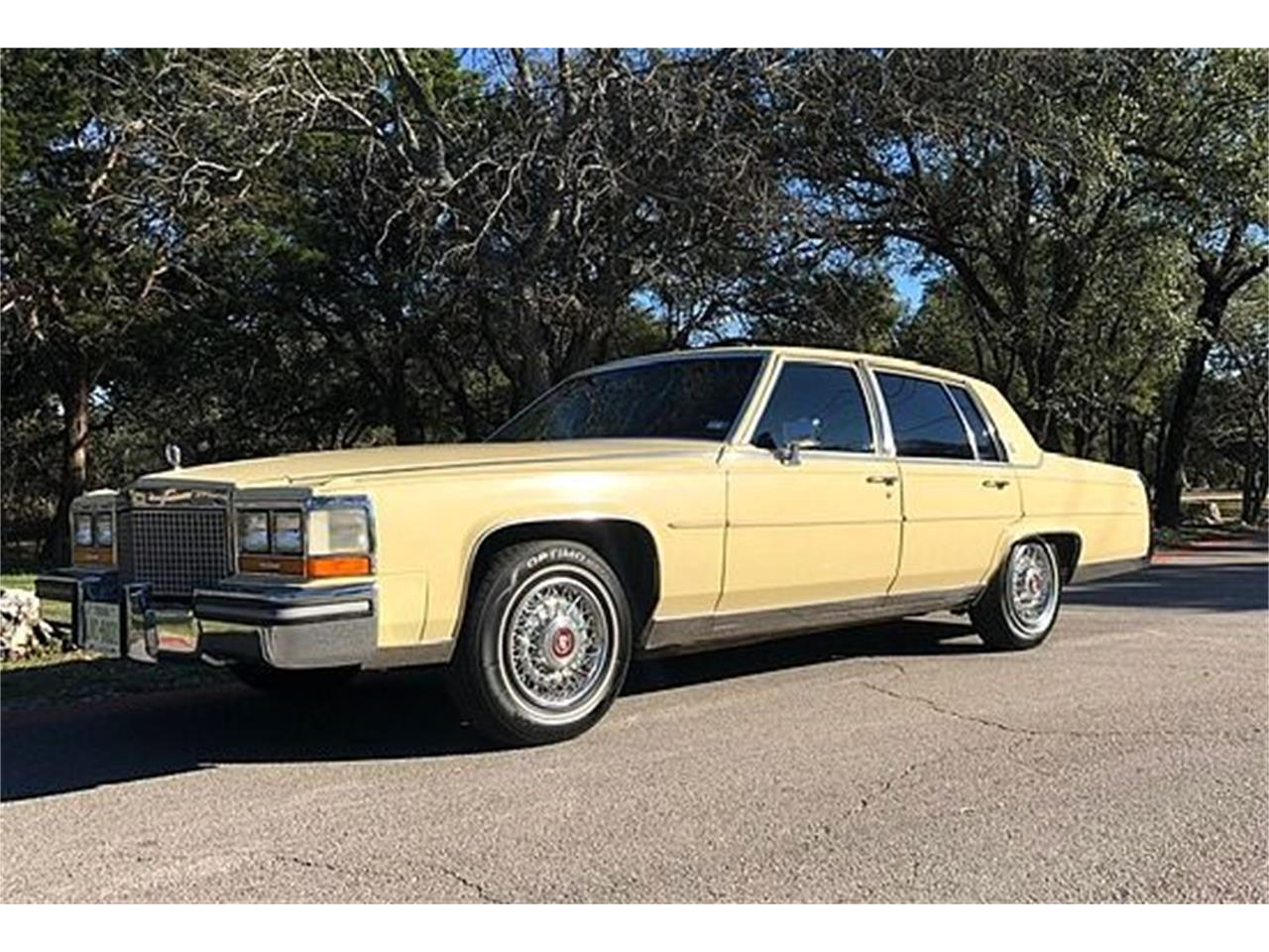 1987 Cadillac Fleetwood Brougham For Sale In Stratford Nj Classiccarsbay Com
