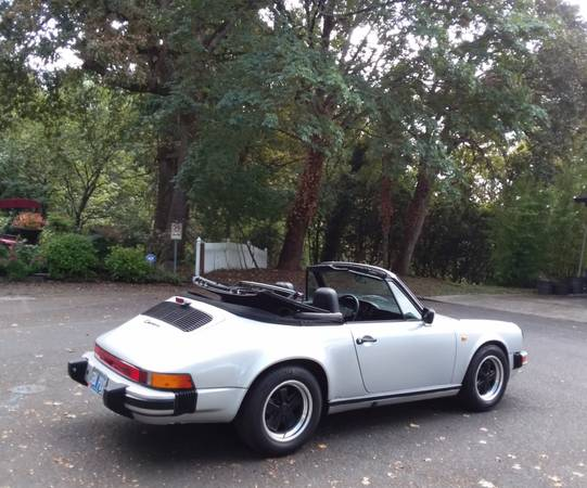 1984 Porsche 911 Carrera Cabriolet for sale in Portland, CA – photo 16