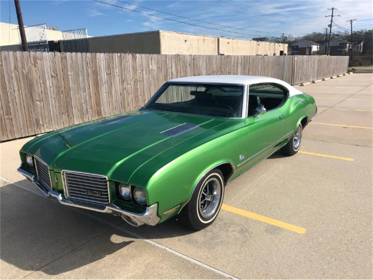 1972 Oldsmobile Cutlass for sale in Cadillac, MI