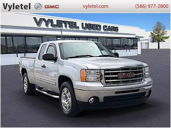 2011 gmc sierra 1500 truck 4wd ext cab 143 5 sle gmc pure silver for sale in sterling heights mi classiccarsbay com 2011 gmc sierra 1500 truck 4wd ext cab