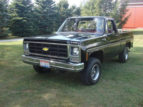 1979 Chevy Truck For Sale In Shelby Oh Classiccarsbay Com