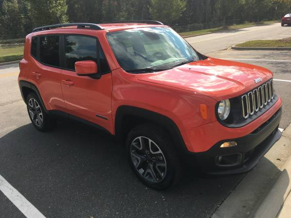 2017 Jeep Renegade 4X4 24 mi, Excellent shape! Make an offer! - cars... for sale in Matthews, SC – photo 6