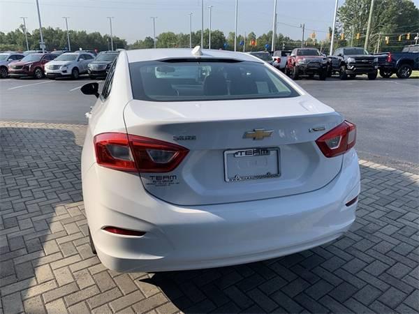 2017 Chevy Chevrolet Cruze Premier sedan White for sale in ...